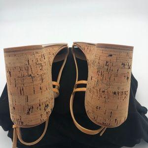 Prada Shoes - Prada Nude/Tan Patent Leather sz 38